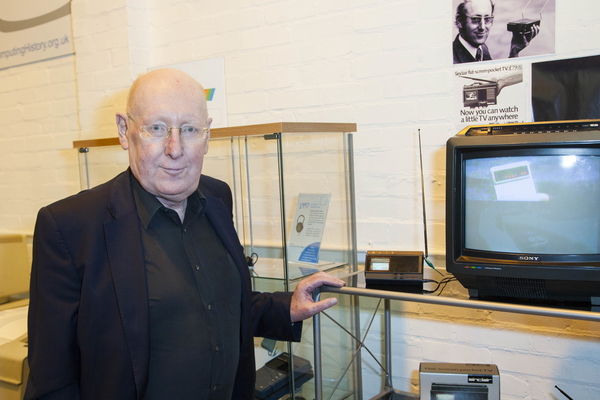 Sir Clive Sinclair at The Centre for Computing History