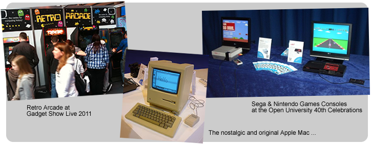 Corporate Retro Gameing and Computing Events