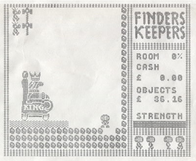 Finders Keepers - Video Game Heritage