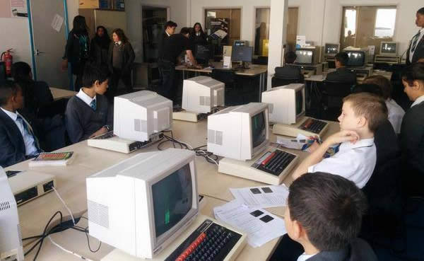 BBC Micro Programming - School Visits