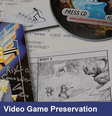 Video Game Preservation Project
