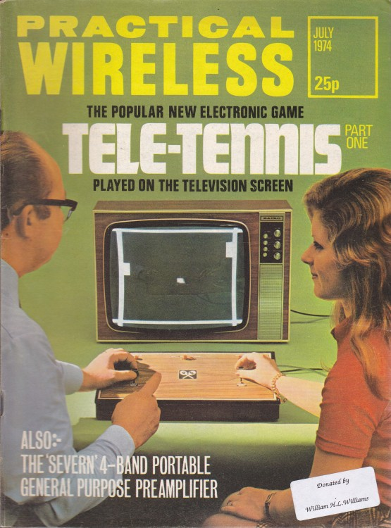 Scan of Document: Practical Wireless - July 1974
