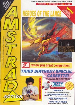 Scan of Document: Amstrad Action October 1988