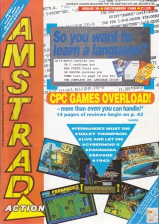 Scan of Document: Amstrad Action December 1988