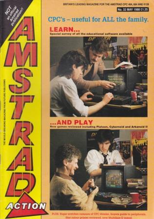 Scan of Document: Amstrad Action May 1988