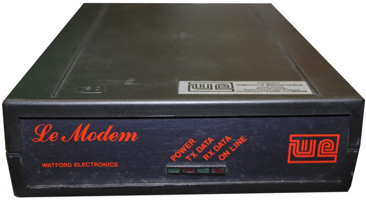 Scan of Document: Watford Electronics Le Modem
