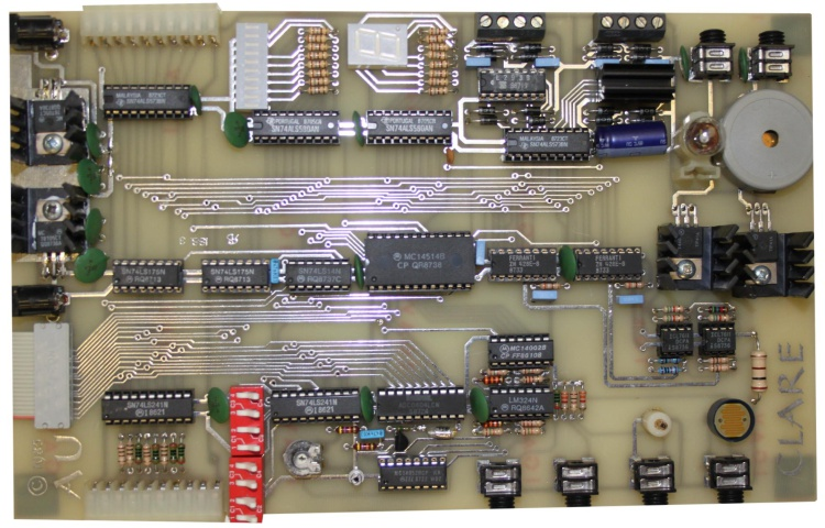 Scan of Document: CLARE Input/Output Board