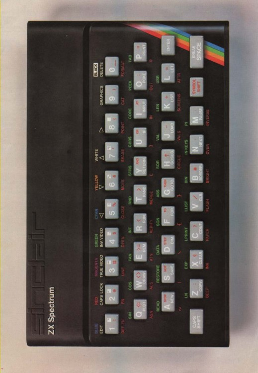 Scan of Document: Sinclair ZX Spectrum 6 page leaflet
