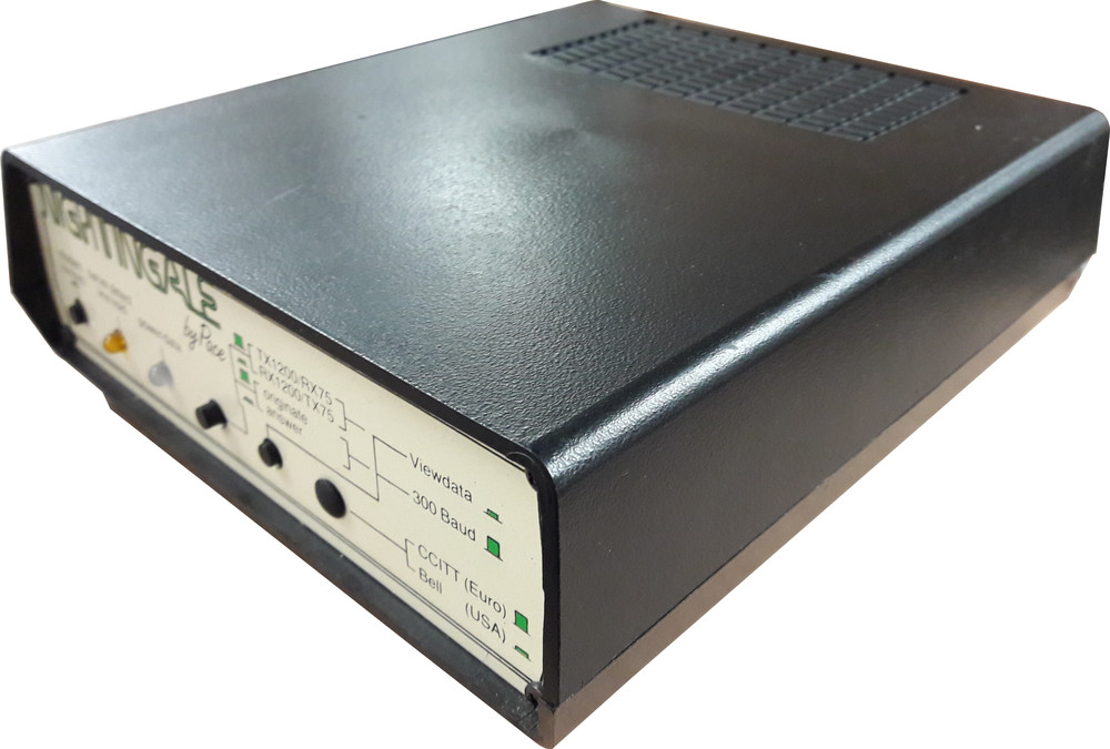 Scan of Document: Nightingale Modem by Pace