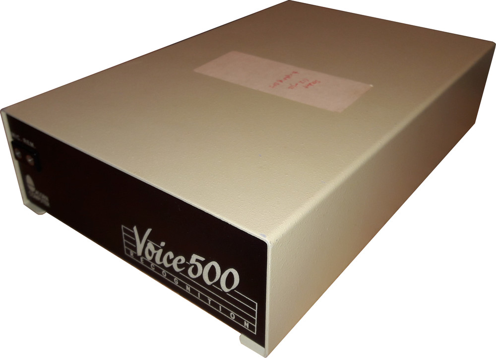 Scan of Document: Voice 500 Recognition