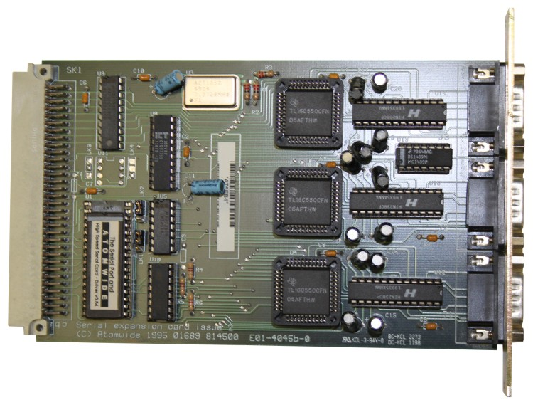 Scan of Document: Atomwide Serial Expansion Card