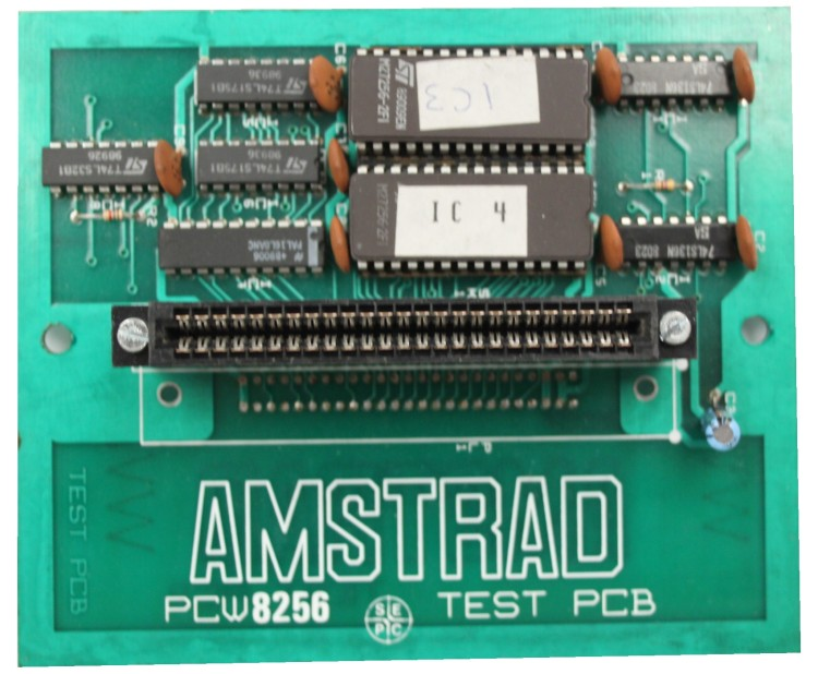 Scan of Document: Amstrad PCW8256 Test PCB