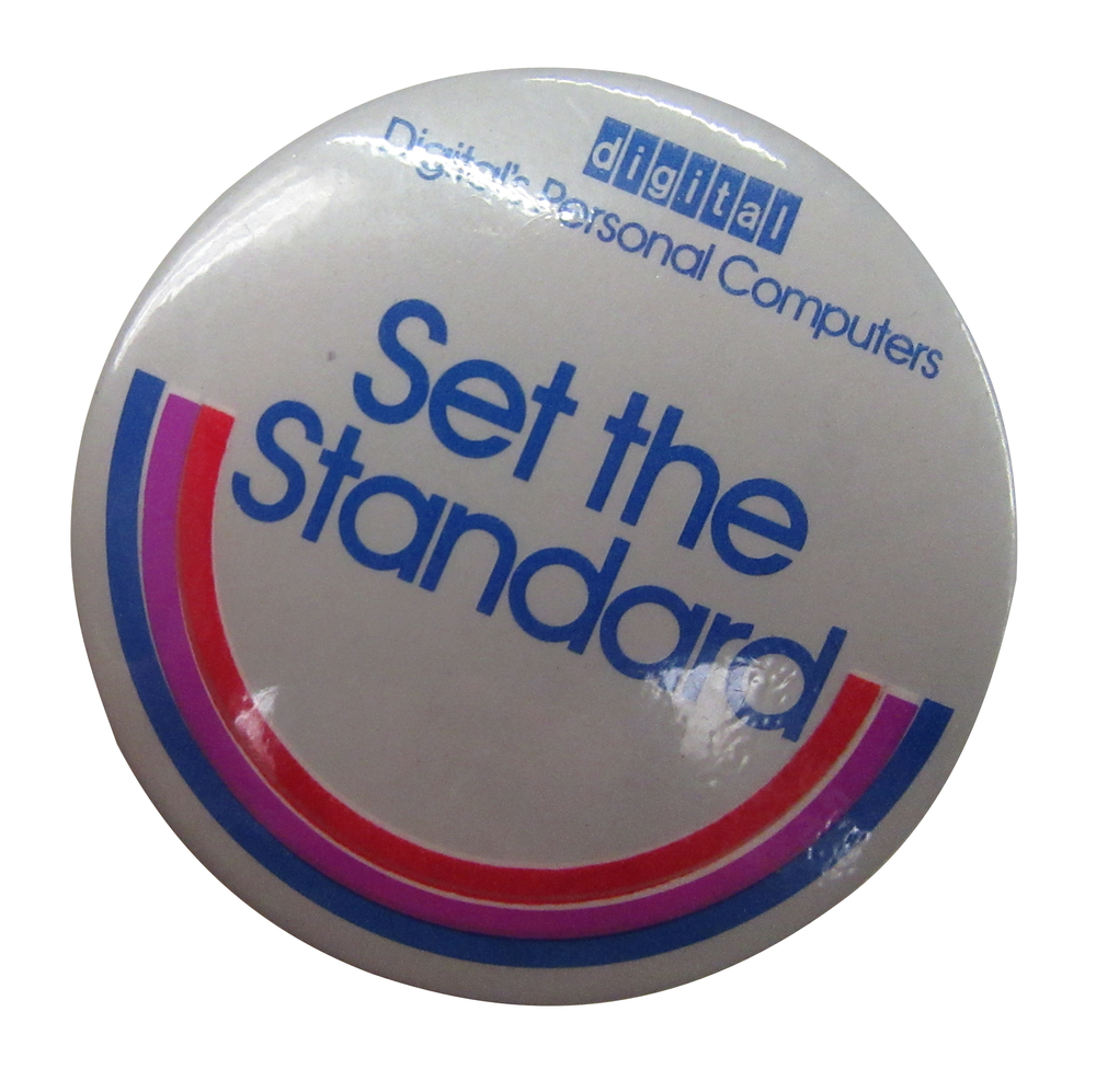Scan of Document: Set the Standard Badge
