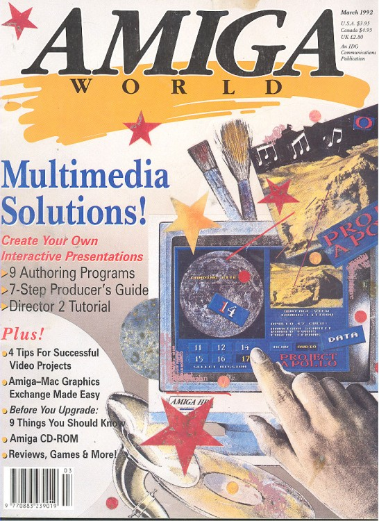 Scan of Document: Amiga World - March 1992