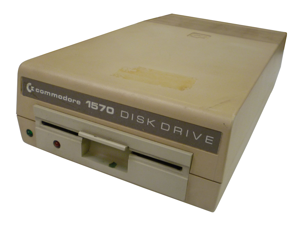 Scan of Document: Commodore 1570 Disk Drive