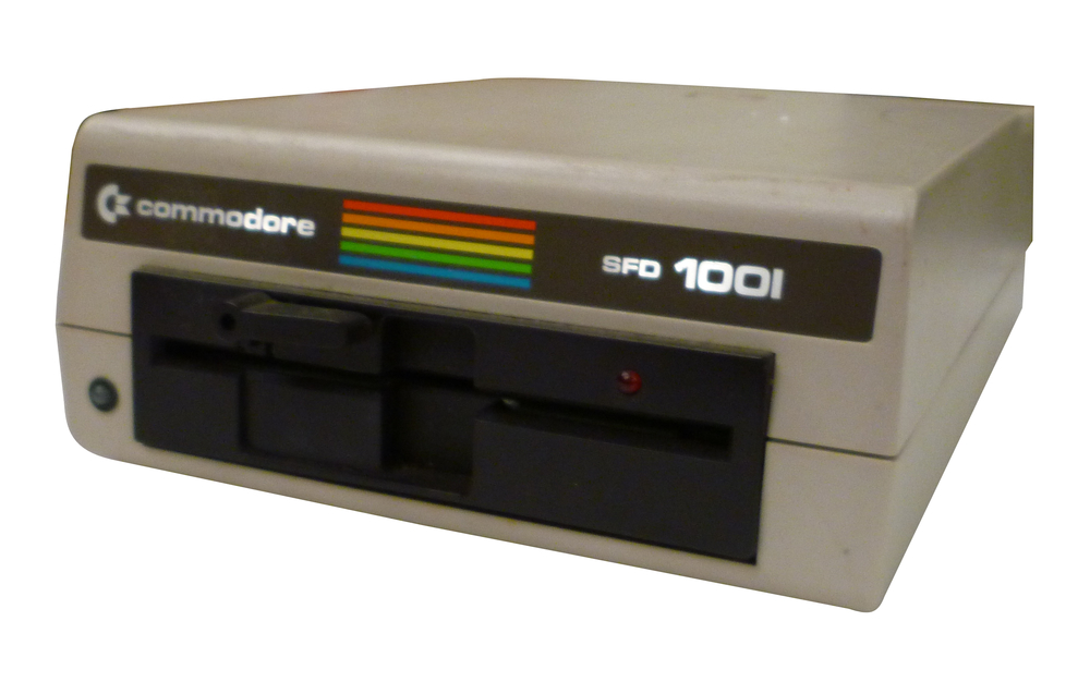 Scan of Document: Commodore SFD-1001 Disk Drive