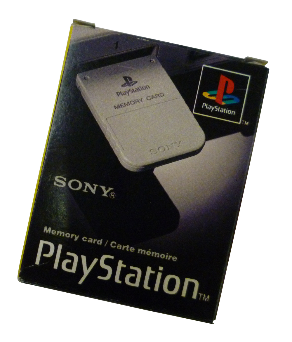 Scan of Document: Sony PlayStation Memory Card