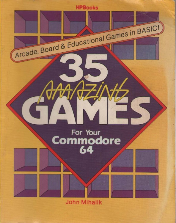 Computing books at the centre for computing history 35 amazing games for your commodore 64 fandeluxe Image collections
