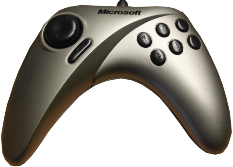 Scan of Document: Microsoft Sidewinder Game Pad Pro
