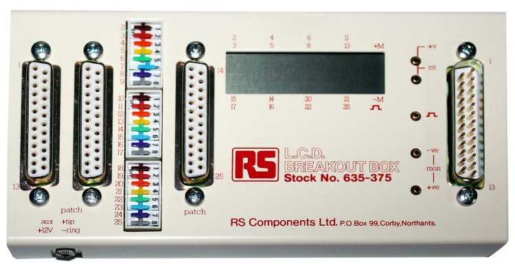 Scan of Document: LCD Breakout Box
