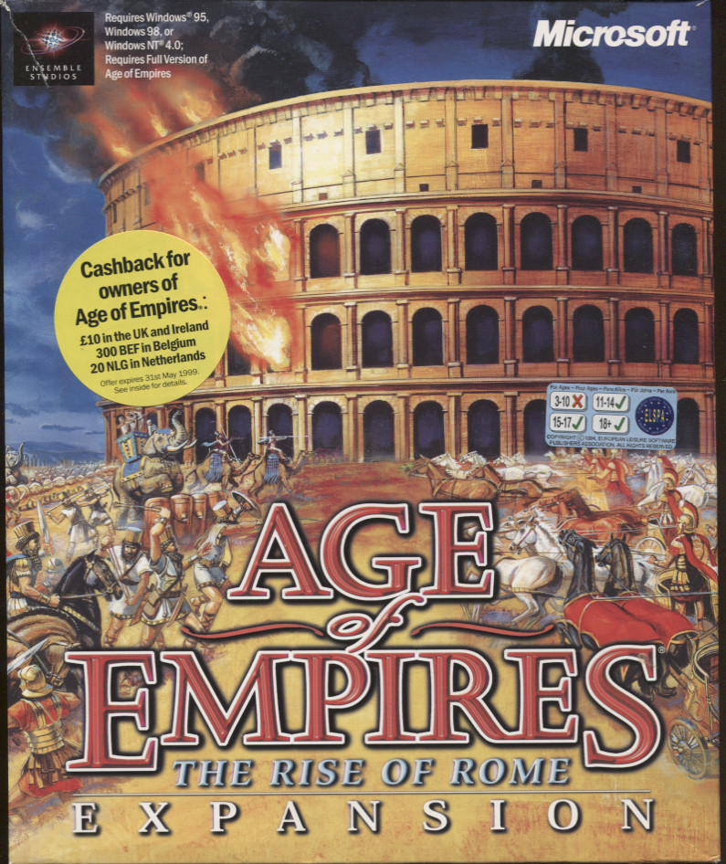 Age of Empires: The Rise of Rome (Expansion) - Computing History