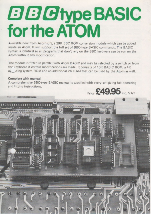 Scan of Document: BBC type BASIC for the ATOM