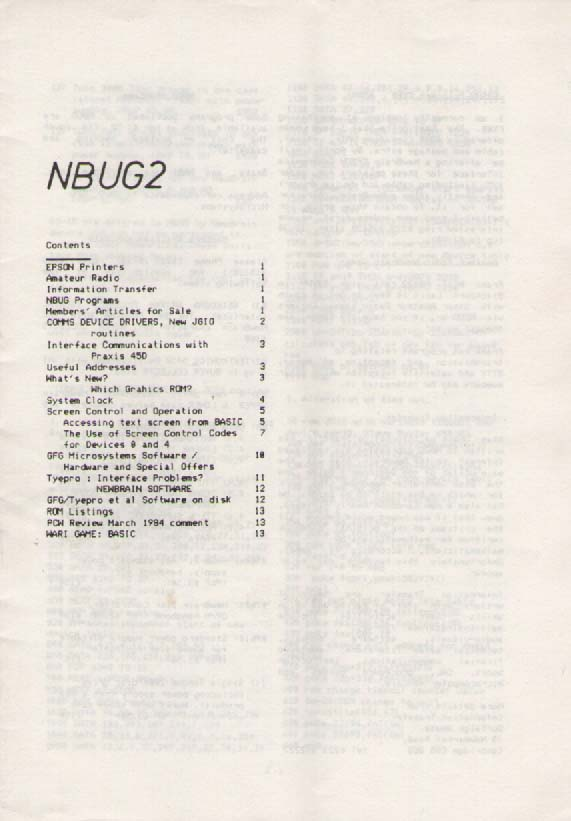Scan of Document: NBUG 2