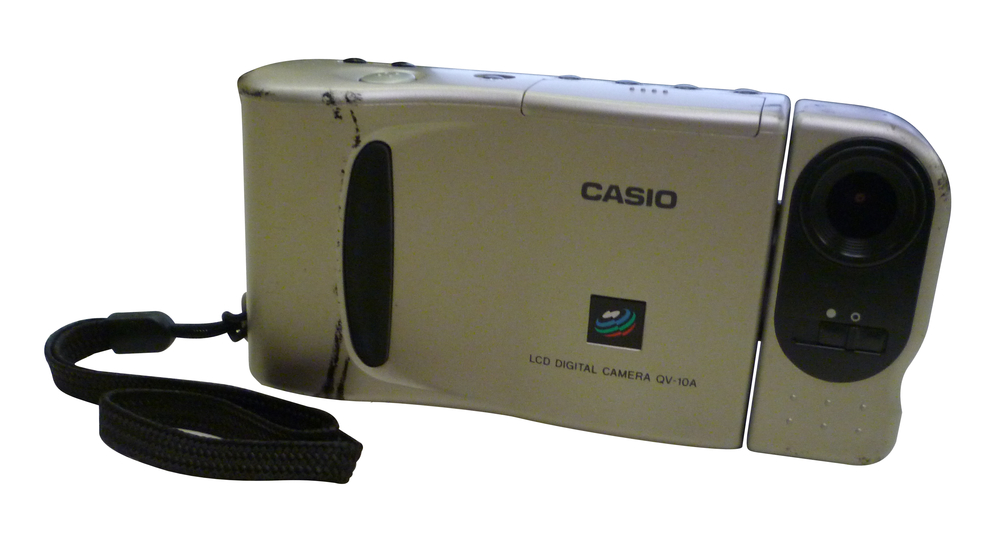 Scan of Document: Casio QV-10A LCD Camera