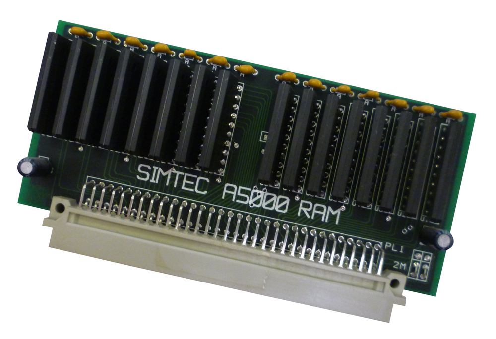 Scan of Document: Simtec A5000 2MB RAM Upgrade