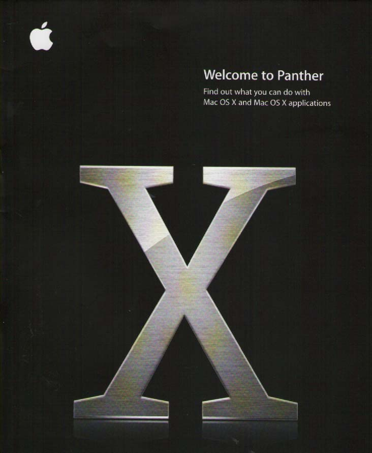 Scan of Document: Mac Panther for OSX