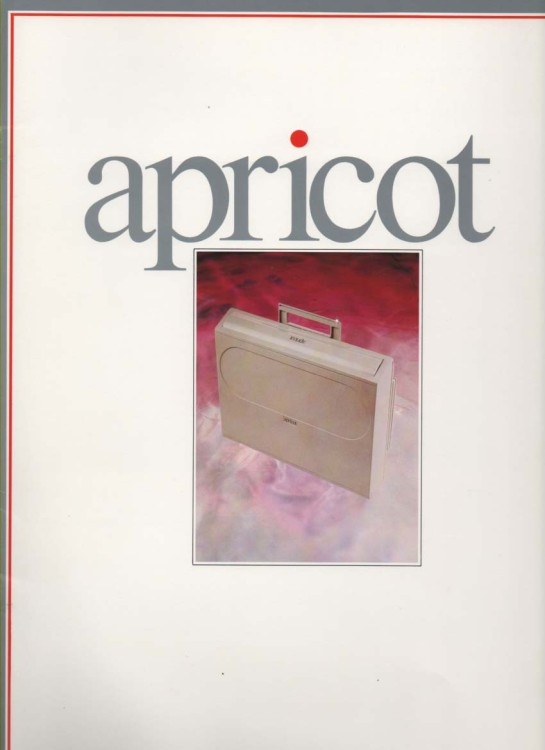 Scan of Document: Apricot 4th Generation Executive Computer