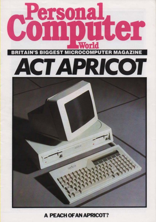 Scan of Document: Apricot 4th Generation Executive Computer PCW  Review