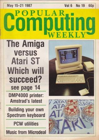 Scan of Document: Popular Computing Weekly Vol 6 No 19 - 15-21 May 1987