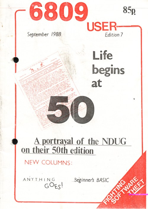 Scan of Document: 6809 User - Edition 7 - September 1988