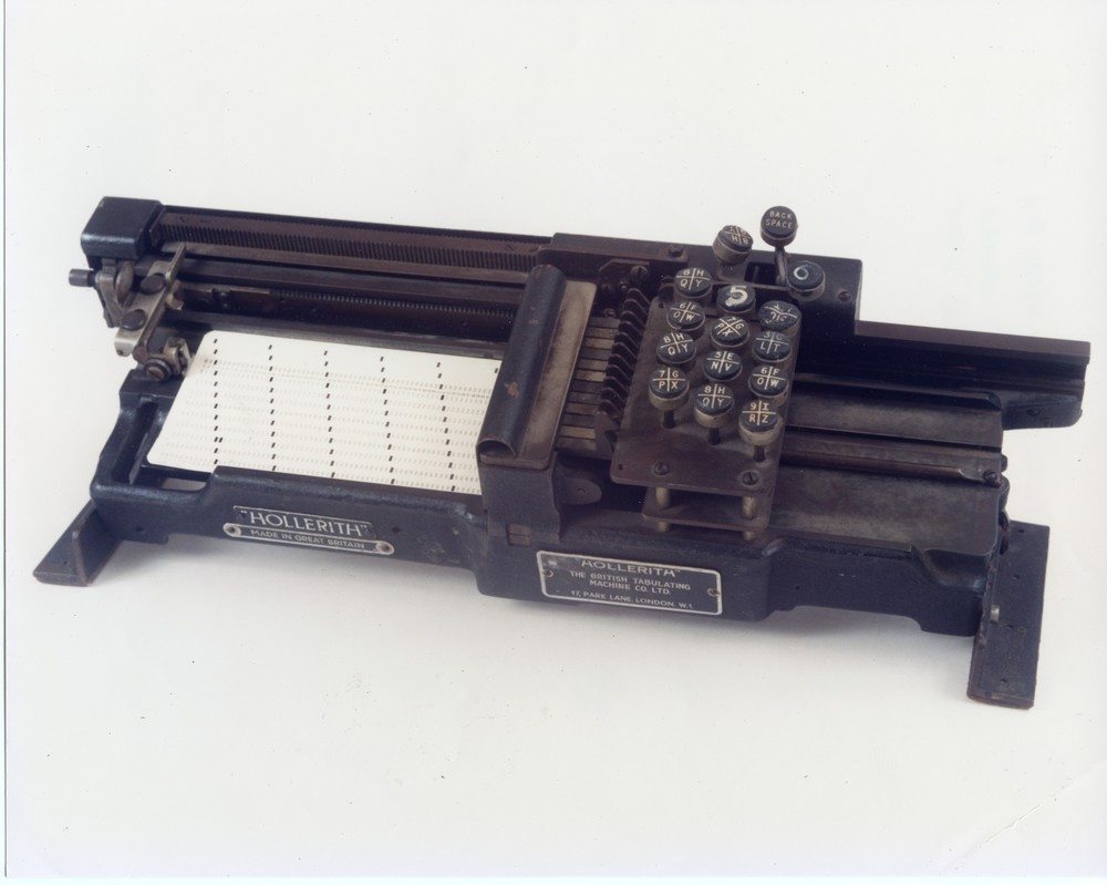 Photograph of 60475 Hollerith Hand Card Punch