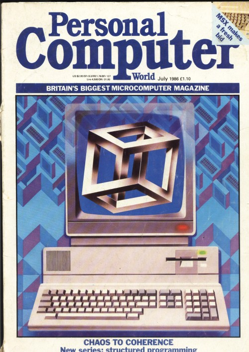 Scan of Document: Personal Computer World - July 1986