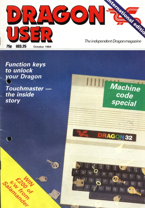 Scan of Document: Dragon User - October 1984