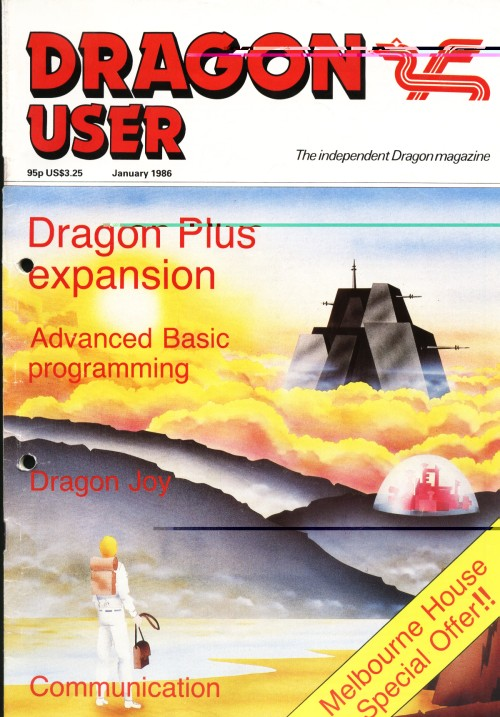 Scan of Document: Dragon User - January 1986