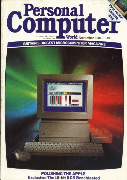 Scan of Document: Personal Computer World - November 1986
