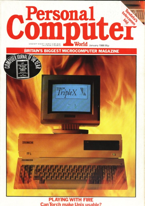 Scan of Document: Personal Computer World - January 1986