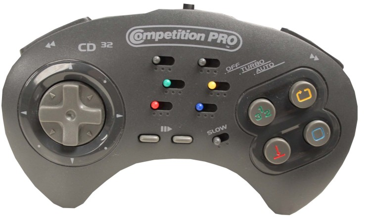 Scan of Document: Competition Pro Joypad for the CD32