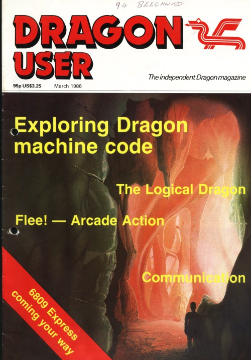 Scan of Document: Dragon User - March 1986