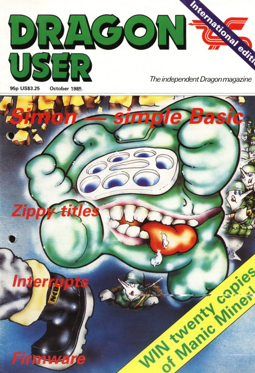 Scan of Document: Dragon User - October 1985