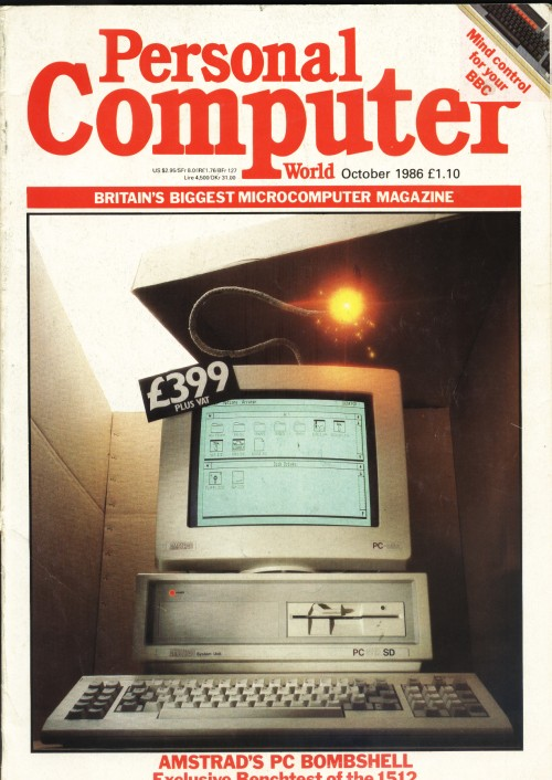 Scan of Document: Personal Computer World - October 1986