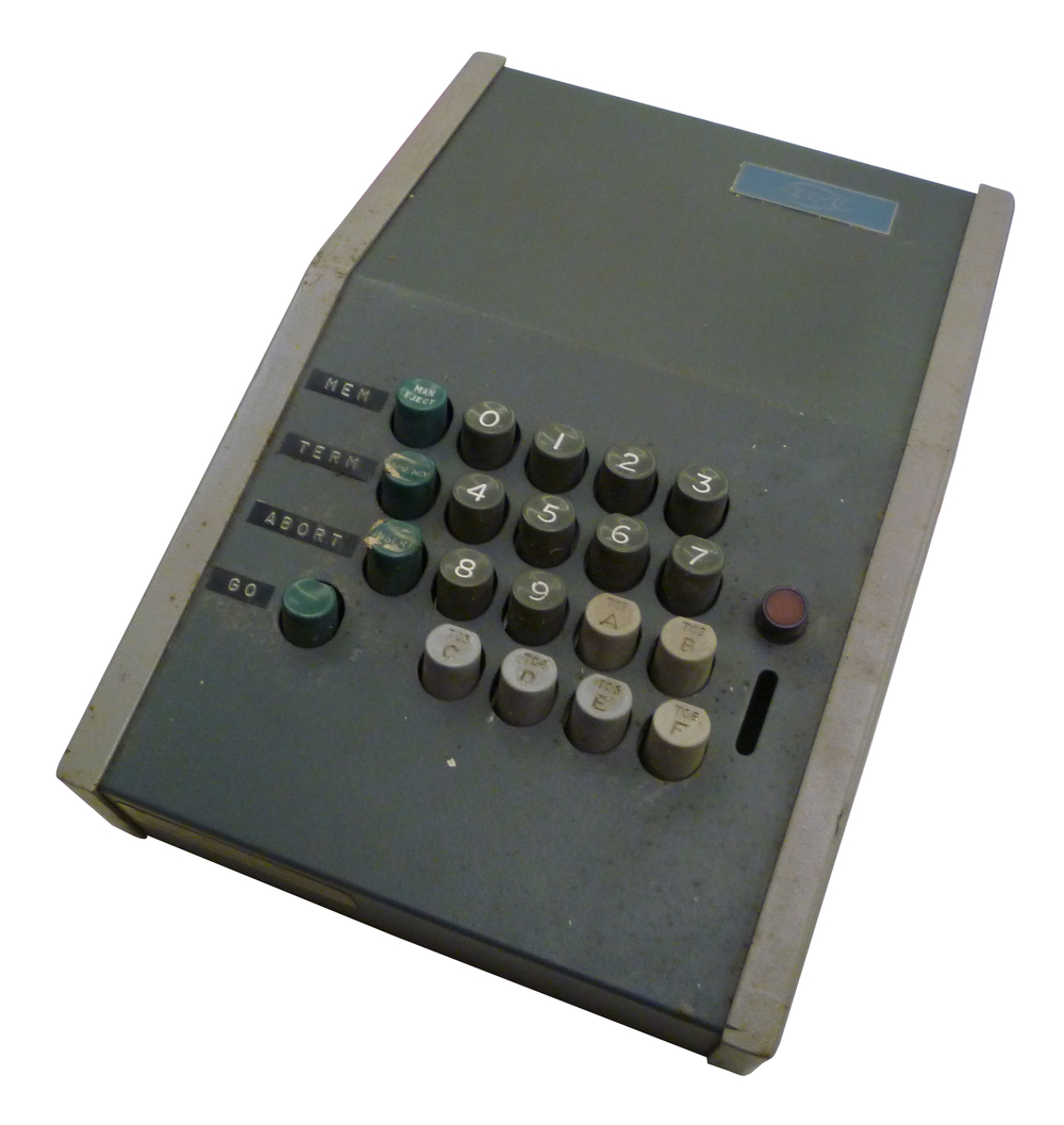 Scan of Document: ICT Modified Punch Card Machine