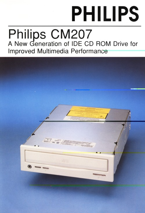 Philips CM207 CD-ROM Drive