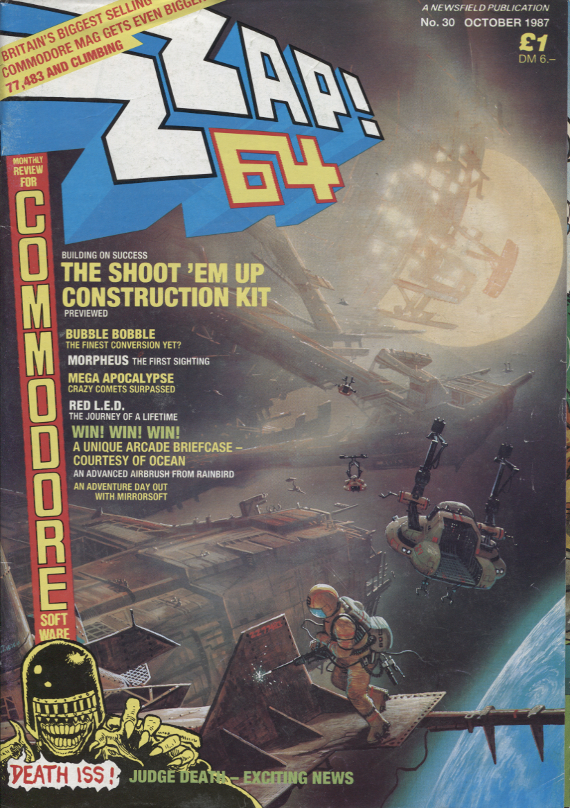 Scan of Document: Zzap! - No.30 October 1987