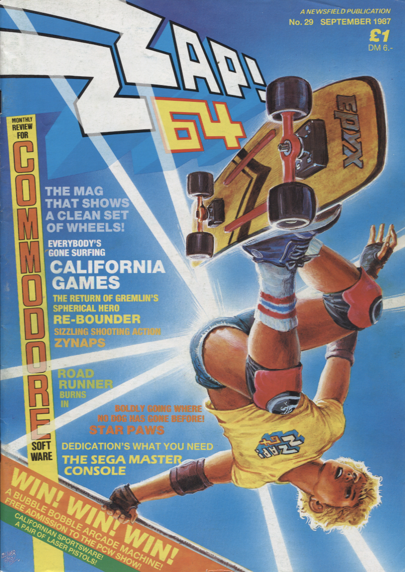 Scan of Document: Zzap! - No.29 September 1987