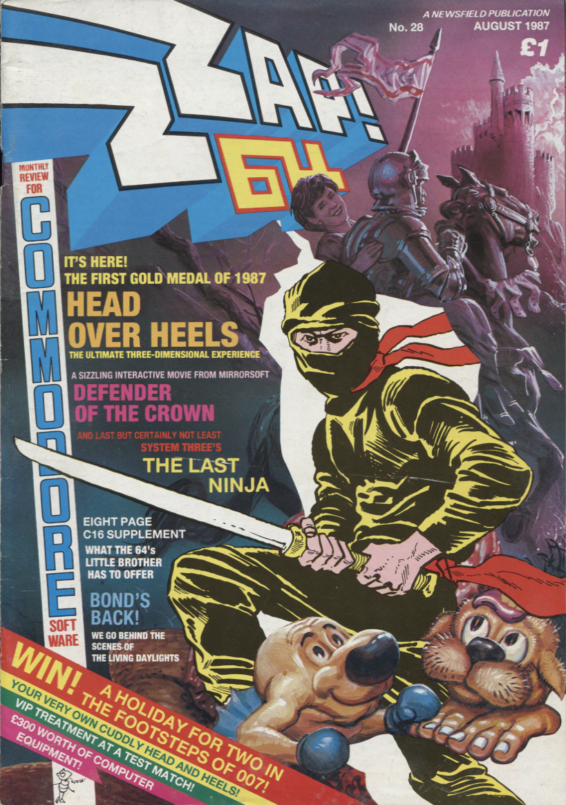 Scan of Document: Zzap! - No.28 August 1987