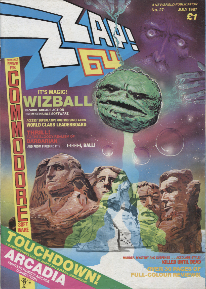 Scan of Document: Zzap! - No.27 July 1987